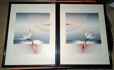 80's Retro Artwork, 2 Print Set (Paradise I & II) W. Coombs, Lithography