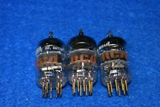6688 E180F Mullard for RCA ANOS Audio Receiver Radio Vacuum Tubes Tested Trio