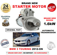FOR BMW 3 TOURING 335 i xDrive STARTER MOTOR 2012-> 1.6kW F31 ESTATE AUTOMATIC