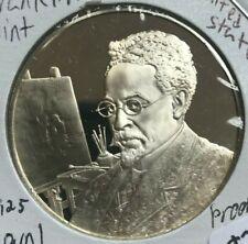 Franklin Mint Sterling Silver Postmasters of America Medal - Number #51