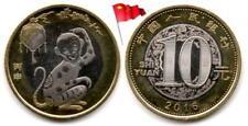 Chine - 10 Yuan 2016 (Year of the Monkey - Année du Singe - UNC)