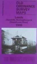 Old Ordnance Survey Map Leeds Harehills Buslingthorpe Chapeltown  1906  S203.14