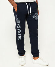 Superdry Trackster Joggerblu Pants Tracksuit Men's Blue With Prints M