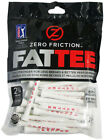Zero Friction Bamboo FATTEE Golf Tees 2-3/4