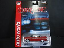 Auto World Plymouth Fury 1958 Christine 1/64 AWSS6401
