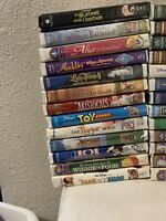 DISNEY CHILDRENS CLASSICS VHS TAPES LOT OF 26 MOVIES