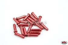Dia-Compe Brake Cable End Caps Red - 10 Pairs Bulk Buy - Old School BMX