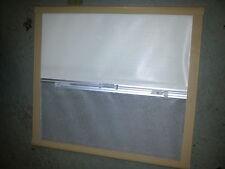 Seitz motorhome caravan window blind frame brown frame old style 75cm x 69cm