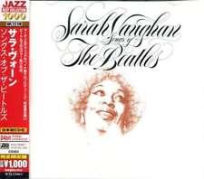Sarah Vaughan - Songs Of The Beatles NEW CD