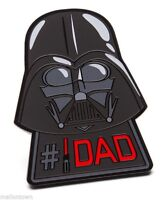 Star Wars the Last Jedi Darth Vader #1 Dad Lightsaber Pin Fathers Day Xmas Gift