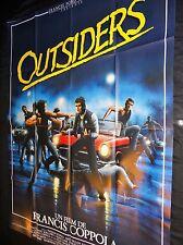 OUTSIDERS ! francis coppola tom cruise   affiche cinema cars automobile