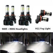 6x Bulb For Honda Accord 2006-2009 2010 2011 2012 LED Headlights + Fog Light