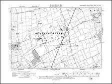 old map Lincolnshire 17SE repro Belton Westgate E Beltoft 1908