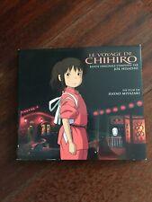 Joe Hisaishi CD Le Voyage De Chihiro (Bande Originale) 2001 Film Hayao Miyazaki
