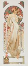 Mucha Foundation Sylvanis Essence Perfume Limited Edition Lithograph S2 Art