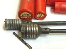 "HILTI TE-F BK 2""x 22"" & 2-1/2""x 22"" CARBIDE CORE DRILLS, for OLD TE 52, 72, 92"