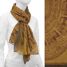 Animal Print Scarf Lightweight Wrap Fashion Accessory 42 x 68 inches