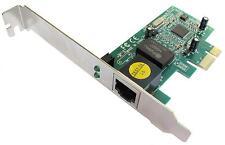 Dynamode pcixgi PCI Express tarjeta de adaptador de red de 10/100/1000 Gigabit Ethernet