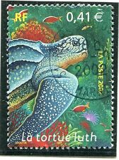 TIMBRE FRANCE OBLITERE N° 3485 FAUNE / TORTUE LUTH / Photo non contractuelle