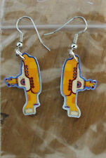 Submarine Earrings Beatles Yellow Sub Charms