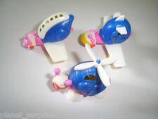 Snails Airlines White Variations 2002 Model Airplanes Set Kinder Surprise Toys