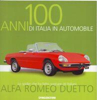 Booklet ALFA ROMEO DUETTO rare 30 PAGES