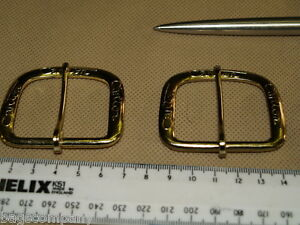 """1 CARLTON BUCKLE BRASS or ANTIQUE BRASS tone hardware - fit 1.5"""" (38mm) Strap"""