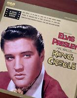RARE 1958 ELVIS PRESLEY King Creole RCA LSP-1884(e) Victor Original Soundtrack