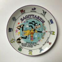 Walt Disney Signs of Zodiac Sagittarius Goofy Character Collector Plate Schmid