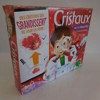 Coffret Les cristaux BUKI France pour apprenti scientifique et artiste