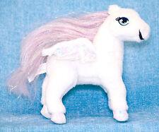 "Mattel Barbie Magic Of Pegasus Little Brietta 7"" Plush White Stuffed Horse 2004"