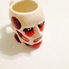 Attack on Titan Molded Titan head ceramic mug Japanese Anime