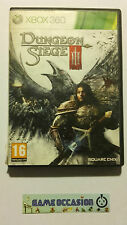 DUNGEON SIEGE III 3 MICROSOFT XBOX 360 PAL COMPLET FR