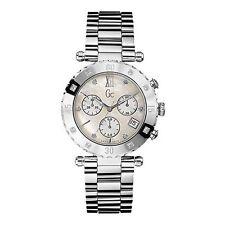 Reloj mujer G C Guess Collection crono acero diamantes nácar Ronda