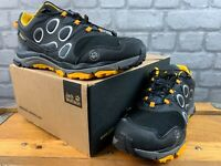 JACK WOLFSKIN MENS UK 6.5 EU 40 TRAIL EXCITE TEXAPORE LOW BLACK YELLOW TRAINERS