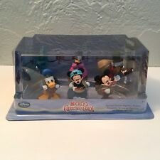 NWT Disney MICKEY'S CHRISTMAS CAROL Play Set Figures Scrooge Ghost Cratchits