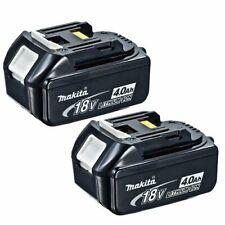 Makita Genuine BL1840B 18V 4.0Ah Li-Ion LXT Batterie Confezione da 2