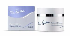 New Dr Spiller Thymovit E Cream 50 ml Biomimetic Moisturizer Made in Germany