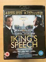 The King's Speech Blu-ray 2010 British Oscar Winner w/ Colin Firth