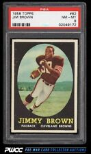 1958 Topps Football Jim Brown ROOKIE RC #62 PSA 8 NM-MT (PWCC)