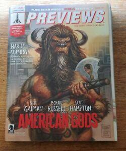 Previews Comics Catalog Neil Gaiman January 2017