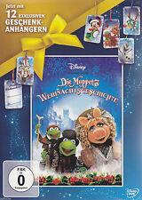 DVD/ Die Muppets Weihnachtsgeschichte - mit 12 Geschenkanhängern !! NEU&OVP !!