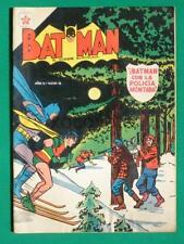 1954 BATMAN #6 SPANISH BATMAN USA #78 MANHUNTER FROM MARS MEXICAN COMIC NOVARO
