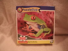 New 100 Piece Red Eyed Tree Frog Puzzle