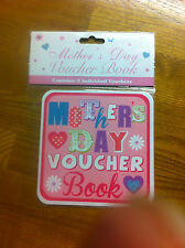 50%off christmas sale Mother's Day Voucher Book.was 2.99