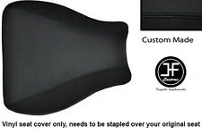 BLACK AUTOMOTIVE VINYL CUSTOM FITS HONDA CBR 600 RR8 07-11 SEAT COVER ONLY