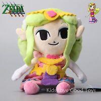 NEW Legend of Zelda Princess Zelda Plush Soft Toy Doll 8'' Cuddly Girl Xmas Gift