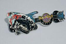 Hard Rock Cafe Pins - Vintage Macau Hard Rock Hotel Racing Motor Guitar #9624