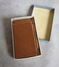 Vintage Pigskin Note Pad w/ Mechanical Pencil