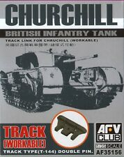 NEW 1:35 AFV Club AF35156 Churchill Infantry Tank workable individual tracks